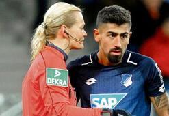 Almanya, Kerem Demirbayı konuşuyor Kadın hakeme...