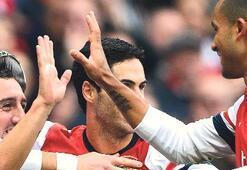 Londra derbisinde Arsenal kazandı