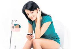 Cep telefonuyla tuvalete gitmeyin