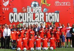 TFF-Ülker Futbol Köyleri açılışı yapıldı