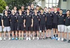 Ümit Milli Basketbol Takımı, Boluda toplandı