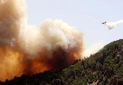 Fire in Adrasan, evacuation in Olympos