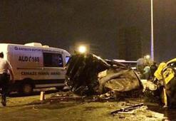 Antalyada kaza: 4 ölü