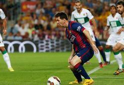 Barcelona 10 kişiyle fark attı