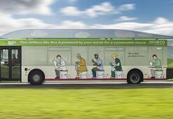 İnsan dışkısı ile çalışan otobüs yaptılar
