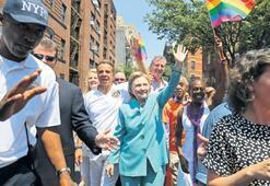 Clinton'dan  LGBTİ desteği