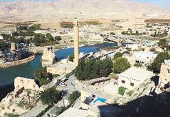 Göl manzarası  Hasankeyf'te fiyatları uçurdu