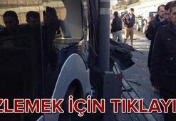 Bayrampaşada metrobüs kazası