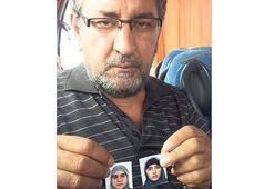 Kızlarını kaybetti oğlu  ile gelini yakalandı