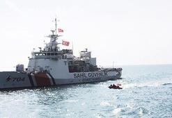 300 mülteci taşıyan gemide acil durum
