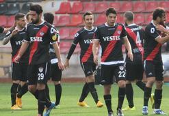 Gaziantep Büyükşehir Belediyespor - Manisaspor: 0-2