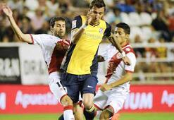 Atletico Madride Vallecano çelmesi