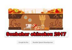Sonbahar ekinoksu nedir Sonbahar ekinoksu 2017 Google tarafından doodle oldu