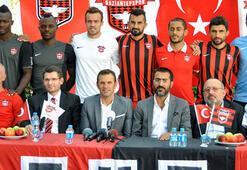 Gaziantepspor yeni transferleri tanıttı