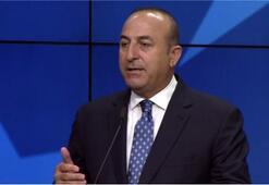 Bakan Çavuşoğlu'ndan 'çifte standart' vurgusu
