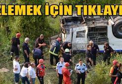 Uludağ'da korkunç kaza