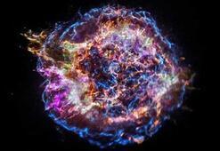Tam bir renk cümbüşü Süpernova kalıntısındaki maddeler böyle görüntülendi