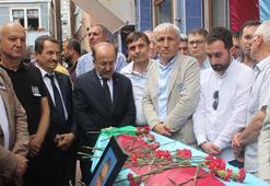 Trabzonspor eski Divan Kurulu Başkanı Ali Özbak son yolculuğuna uğurlandı