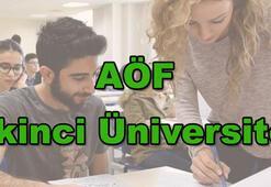 AÖF ikinci üniversite kayıtları uzatıldı AÖF kayıtları nasıl yapılır