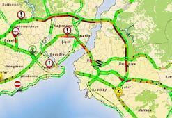 Tatilciler İstanbulu terk ediyor ana arterler kapandı