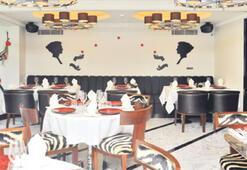 Akdeniz kokulu restoran