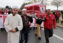Samsunspor taraftarlarından ilginç protesto