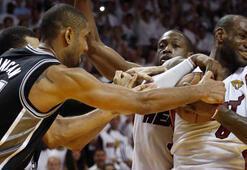Spurs ve Miami yine finalde rakip