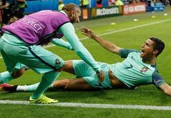 Portekiz Galler maçı özeti 2-0 EURO 2016 yarı finalde muhteşem goller