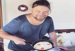 İskender Paydaş'ın omlet pozu