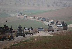 Suriyede tehlikeli gelişme.. El Nursa konvoyu böyle görüntülendi