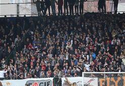 Sarıyer-Beşiktaş maçında Emre Belözoğlu tezahüratı