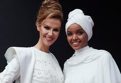 İki modelden dünyayı kucaklayan mesaj