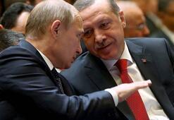 Erdoğan ile Putin kritik konuları   görüşecek