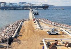 İkinci yüzer LNG  deposu Akdeniz'e