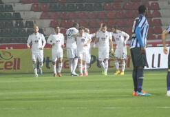 Gaziantep Büyükşehir Belediyespor - Adana Demirspor: 1-0