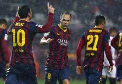 Barcelonadan kritik Sevilla galibiyeti