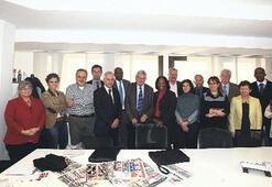 IPI heyeti Milliyet'i ziyaret etti