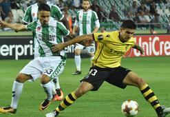 Atiker Konyaspor - V.Guimaraes: 2-1 (İşte maçın özeti)
