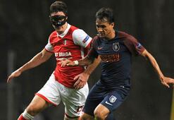 Braga - Medipol Başakşehir: 2-1 (İşte maçın özeti)