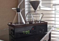 Kahve tutkunlarına özel çalar saat
