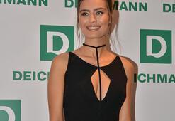 Türkiye güzeli Amine Gülşeden Deichmann sürprizi