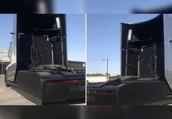 Tesla Semi'nin test sürüşü görüntüleri ortaya çıktı