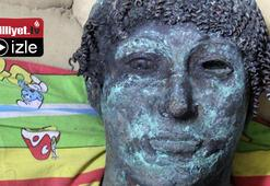 2 bin yıllık heykeli internette satacaktı