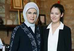 Emine Erdoğan, Merve Başoğlunu kabul  etti
