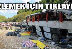 Antalyada otobüs faciası: 13 ölü