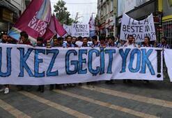 Trabzon taraftarı tepki gösterdi