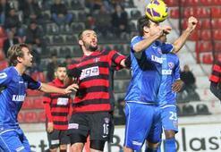 Gaziantepspor - Kardemir Karabükspor: 0-2