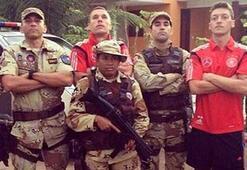 Brezilyalılardan Mesut ve Podolskiye tepki