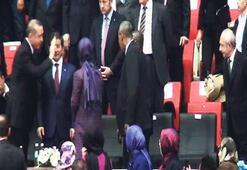 Kılıçdaroğlu ile tokalaşmadı