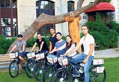 Boğaziçi'nde  bisiklet dönemi
